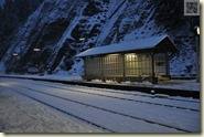 der Bahnhof Triberg
