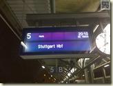 oder doch Stuttgart?
