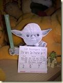 Meister Yoda viel Spaß wünscht