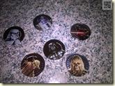 Schokomünzen aus der Weihnachtskugel