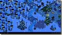 Winterweihnacht bei den Schlümpfen